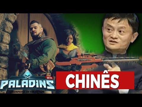 TRAILER em LIVE ACTION do PALADINS / ANUNCIO CONFERÊNCIA CHINESA