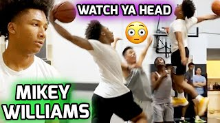 Mikey Williams Gets Off A Plane & Goes STRAIGHT TO THE GYM! Puts Trainer On A POSTER 😳