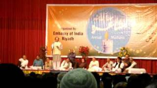 preview picture of video 'Riyadh Mushaira - 2010 - Nadeem Siddiqui - 2'