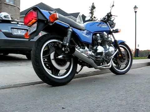 Honda Cb 750 Four K0 K1 Sound Hm 300 фильмы Custom Bikecom
