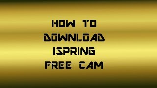 iSpring Free Cam - Free video search site - Findclip