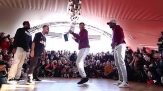 Juste Debout Paris 2016   Hip Hop   Majid & P-Dog Vs James & Lil Blade   Top 32