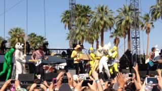 "STRFKR live @ Coachella 2014 ""While I'm Alive"" ."