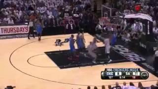 Tim Duncan`dan Kevin Durant`a  Müthiş Blok