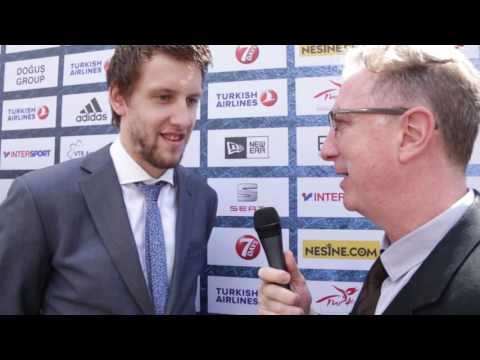 Awards Interview: Jan Vesely, Fenerbahce Istanbul