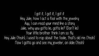 KYLE   Hey Julie! Ft  Lil Yachty (Lyrics Video)