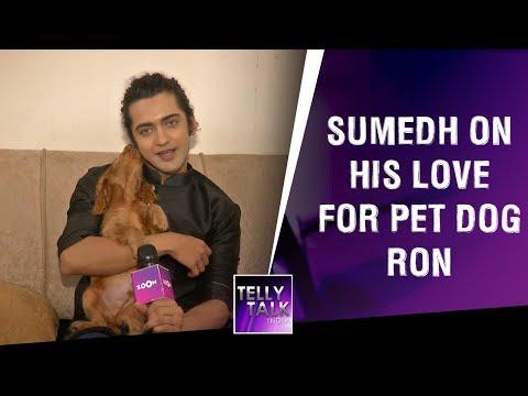 'Radha Krishna' star Sumedh Mudgalkar on his love for pet dog Ron | Exclusive