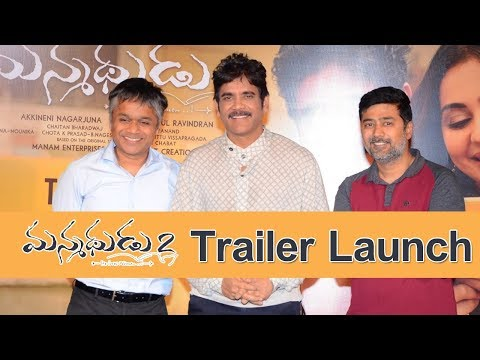 Manmadhudu 2 Movie Trailer Launch Event