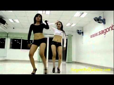 Học nhảy sexydance Frankie- Keaira Lashae by Ms Thanh Vân - Saigonbellydance