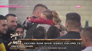 Zadruga 3 - Emotivni susret Janjuša i Krune - 11.11.2019.