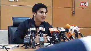 MGTV LIVE - Sidang Media bersama YB Syed Saddiq berkenaan Program Latihan Atlet Negara