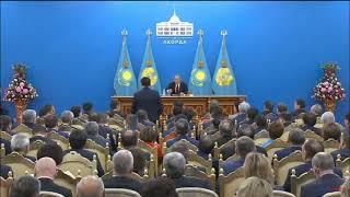 Назарбаев ругает Шпекбаева
