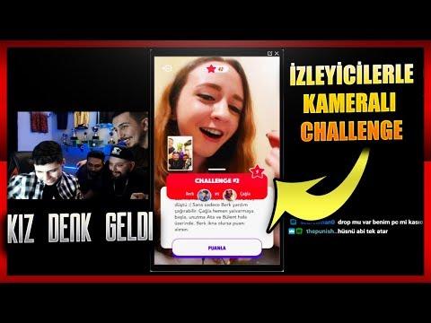 BERK RIP TEPE KAMERALI SOHBET FACEOFF'TA İZLEYİCİLERİYLE CHALLENGE YAPIYOR!