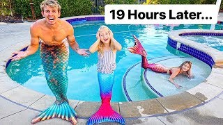 Last Family Member To Stop Being A Mermaid Wins $1000