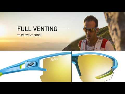 Видео о Очки Julbo AERO blue-yellow J4833432