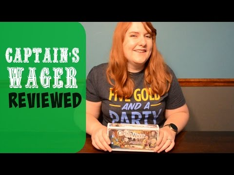 Captain's Wager Short Video Review