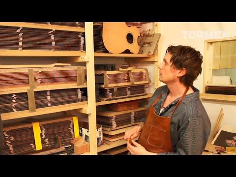 Tormek visits luthier David Sundberg