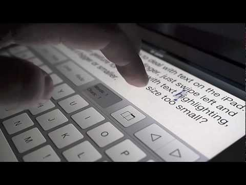 Tyype HD Is An Intuitive, Gesture-Based Text Editor For iPad
