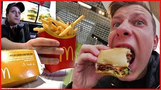 ВЛОГ ♦ Поел бесплатно в Макдональдс | Hey free for McDonalds