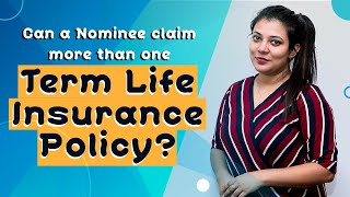 Term Insurance - Can a Nominee Claim From More Than One Term Insurance Policy? | IndianMoney Hindi