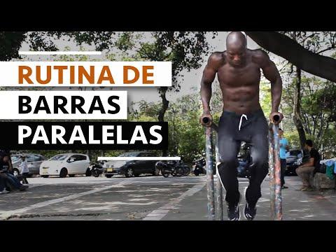 RUTINA DE BARRAS PARALELAS