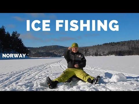 Isfiskeri efter rødding og bækørred i Norge