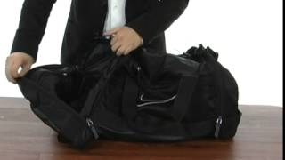 23e70db39be4 Nike Ultimatum Max Air Medium Duffel Black Black (White) - Robecart.
