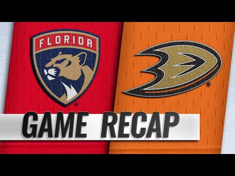Silfverberg, Gibson power Ducks past Panthers