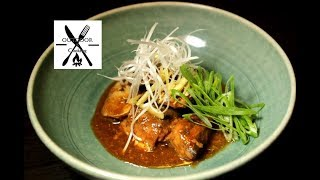 【和食】簡単!本格的に仕上がる サバ水煮缶を使ったサバの味噌煮込み