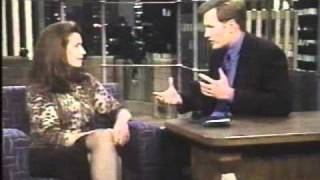 Conan O'brien Interview with Mimi Rogers