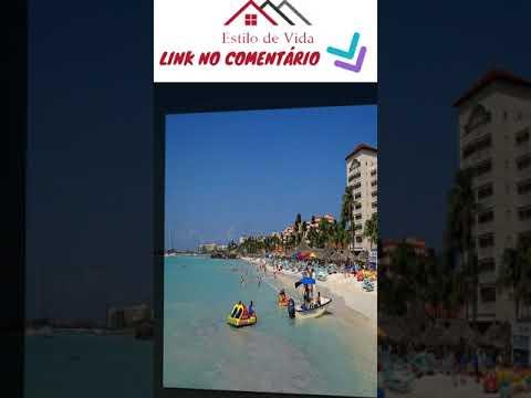 Turismo em Aruba no Caribe - Estilo de Vida - Lifestyle - EV067a - #shorts