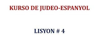 Lisyon 4