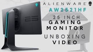 YouTube Video Ts3Erk25mtU for Product Dell Alienware 25 and 27 Gaming Monitors AW2520HF, AW2720HF by Company Dell in Industry Monitors
