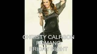 CHRISTY CARLSON ROMANO - FRIDAY NIGHT