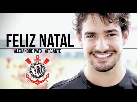 Alexandre Pato grava mensagem de Feliz Natal e promete um 2014 melhor