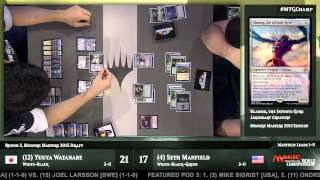 2015 Magic World Championship Round 3 (Draft): Martin Muller vs. Jacob Wilson