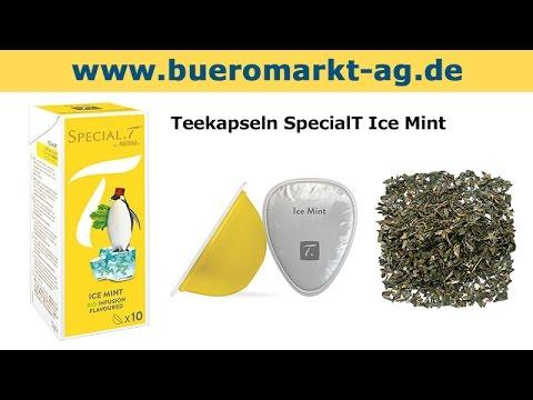 Teekapseln SpecialT Ice Mint