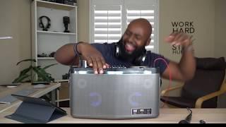 100 WATT BLUETOOTH SPEAKER! LG XBOOM RK8