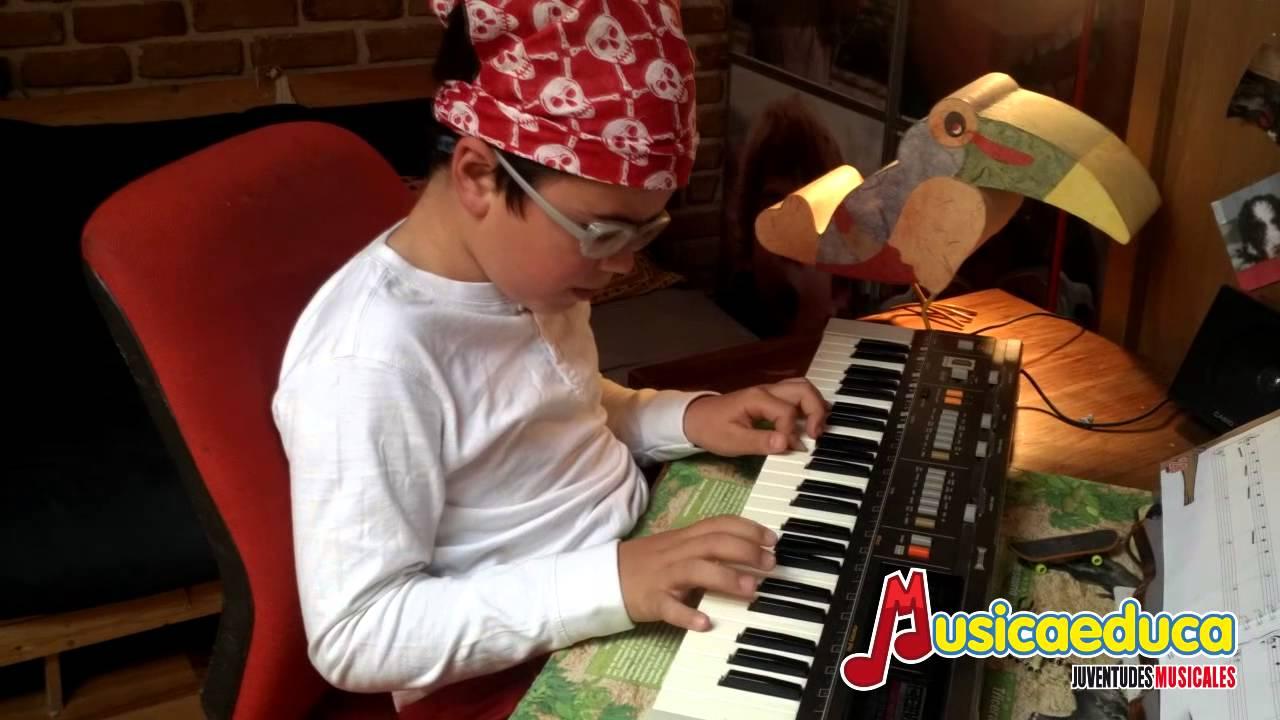 Soy un pájaro - Mi Teclado 2 - Musicaeduca Juventudes Musicales de Alcalá