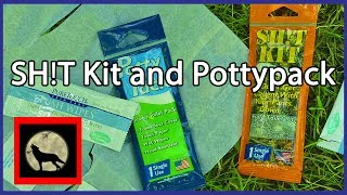 Potty Pack and Sh!t Kits Self Contained Poop kits for Backpackers