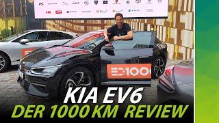 KIA EV6 Review & 1000 km Challenge gegen 17 andere Elektroautos