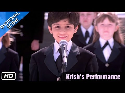 Krish's Performance - Emotional Scene - Kabhi Khushi Kabhie Gham - Kajol, Shahrukh Khan Mp3