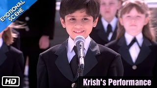 Krish's Performance - Emotional Scene - Kabhi Khushi Kabhie Gham