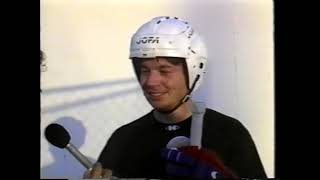 1997 Inline Skating Rink in Kihei, Maui- hockey stars and advocates PLUS.    Mike Meyers was there !