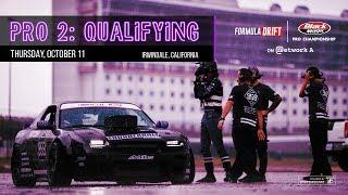 Formula Drift Irwindale 2018 - Pro 2 Qualifying LIVE!