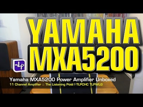 External Review Video TsCoWLx8oNE for Yamaha AVENTAGE MX-A5200 11-Channel Power Amplifier