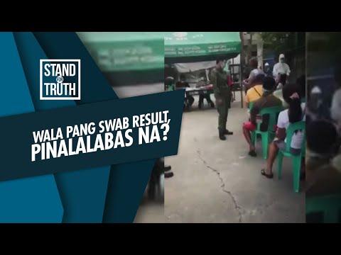 [GMA]  Stand for Truth: Wala pang swab result, pinalalabas na?