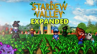 Stardew Valley Expanded Mod - Revamped Exteriors