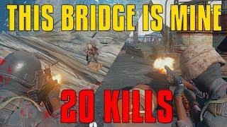 This Bridge Is Mine! - 20 Kills Solo - PlayerUnknown