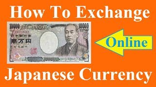 How To Exchange Japan Currency Online for Indian ? Hindi Video